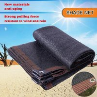 Tents And Shelters Waterproof Shade Fabric Sun Cloth Garden Netting Mesh With Grommets For Pergola Cover Canopy