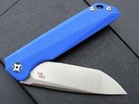 CH Dossier z zt Tolérance 0393 ZT0393 Couteaux D2 LAME G10 G10 Haute Qualité Camping Camping Couteau pliant