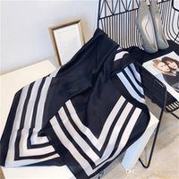 Brand summer ladies scarf shawl silk printed scarves large size 190*80 cm