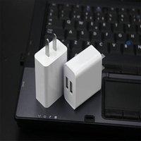 USB Duvar Şarj Cihazı Adaptörü, 2.1amp Çift Port Hızlı Şarj Fiş Küp için iPhone SE / 11 Pro Max / 8/7/6 / 6s Artı / 6 Artı / 6, Samsung Galaxy S7 / S6 / S5 Kenar, LG, HTC, Huawei, Moto