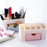 Nail Art Kits 3 Цвета пластиковый столик для хранения ящик для хранения макияж маникюр инструменты настольный ящик для настольных ящиков ювелирных изделий косметический ножницы