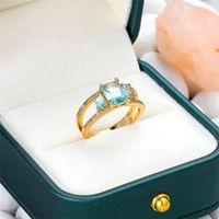 Ceramic Star Couleur Diamant Mode Personnalité Trend Couple Couple Anneaux Designer Anneaux 288 W2
