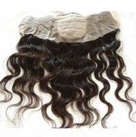 Silk Base Lace Frontal 13x4 Отбеленные узлы Девы Перуанские Волосы Волосы Волна Шелковый Лучший Кружева Фронтальные Части Дешевые 4x4 Шелковый Фронтальный Закрытие