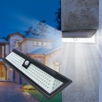 Solar Lights Outdoor - Super Bright LED Motion Sensor Solars Lamps Powered Security Light, IP65 Waterproof Wireless Wall lamp 270° Wide Angle for Front Door, Garage, Yard