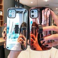 الجملة سعر جيد سعر الهاتف مع الإطار الدائري ل iphone11 برو ماكس SE2020 6/7/8 زائد XS XR S كحد أقصى عودة غطاء مرآة أنيقة