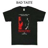 A 13ª Sexta Jason Voorhees Preto Da Tripulação Pescoço T-shirt