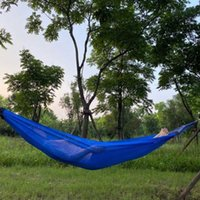 Ice bent wooden hammock outdoor leisure furniture is comfortable, breathable and easy to carry