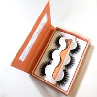Eyebrow Tools & Stencils 3 Pairs Of False Eyelash Fitting Set With Auxiliary Device Multi-color Packing Box