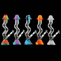 13.3 inch Glass Bong water pipe smoking bongs hookah Dab Rig Pipes Oil Rigs
