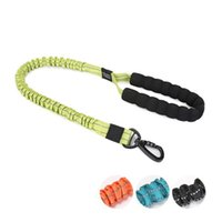 Pet Dog Puppy Elastic Traction Nylon Walking Rope Collars Belt Chest Back Leashes Portable 4 Colors P0201192