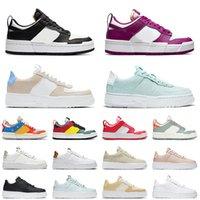 Nike Dunk Low Disrupt hommes femmes chaussures de course Pixel 1 Desert Sand baskets menthe vert daim noir blanc particule beige femmes formateur