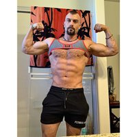 Yoga 2020 Mens Sets Sport Vest Sexy Fitness Men Sleeveless Outdoor Running Gym Clothes Quick Drying Sportswear