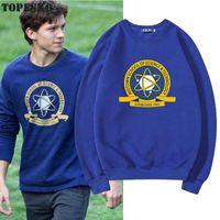 Sweats à capuche pour hommes Topesko Tom Holland Hommes Femmes Science Technology School Streetwear Homme Unisexe Sweat-shirt