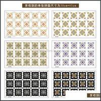 Décor Home & Gardenself Adhesive Pvc Ceramic Tile Waterproof Wall Art Diagonal Floor Stickers Kitchen Decorative Sticker Drop Delivery 2021