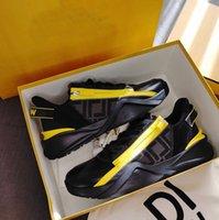 Orijinaller Lüks Erkekler Akış Sneakers Ayakkabı Konfor Mesh Casual erkek Spor Fermuar Kauçuk Hafif Kaykay Koşucu Sole Teknik Kumaşlar Toptan Ayakkabı