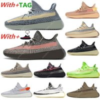 Yeezy 350 V2 Mens Running Shoes Belgua Bred Asriel Israfil Cinder Earth Zyon Cid Zebra Yecheil Static Reflective Sports Trainers Sneakers