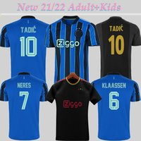 2021/22 AJ AX AJ FC HOME ABAY 3RD Soccer Jersey Tadic Promes Neres Tagliafico Huntelaar Cruyff 21 22 الرجال الاطفال كيت كرة القدم قميص زي مايلوت دي القدم