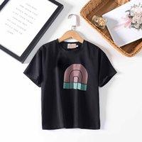 Niños camisetas moda camisetas linda muchacho ocasional top cómodos camisetas letra niña deportes bebé camisetas ropa de verano 3 de color estilo