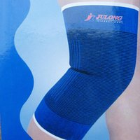 Elbow & Knee Pads 1 Pair Sponge Wrap Support Brace Football Basketball Athletic Sport Protection Pad Elastic Blue Color