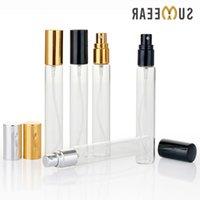 100Pieces Lot 15ml empty cosmetic bottles Mini Portable Perfume Bottle Refillable Aluminium Bottles Atomizer For Travel