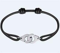 فرنسا مجوهرات dinh van سوار للنساء أزياء 925 فضة حبل handcuff menottes wfb6