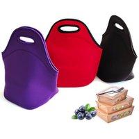 Lightweight Children's Insulation bag portable outdoor neoprene student picnic handbag handheld waterproof lunch bags