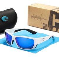 سمك التونة 70٪ من الزقاق الجديد كوستا TR90 الإطار الاستقطاب الرجال العدسات معاصاة إنشارية تصميم المطاط غطاء ركوب الأسماك النظارات الشمسية UV400 A1
