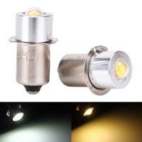 Perlas ligeras Prácticas 90lumen DC3-18V P13.5S PR2 1W LED para bicicleta interior Lámpara de lámpara de antorcha Bombilla de alto brillo caliente / blanco puro