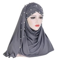 Мусульманский мусульманский хиджаб исламский джерси тюрбан женские черные ниндзя подчеркивать колпачки мгновенные головы шарф полное покрытие внутренние покрытия шляпы этнические ткани