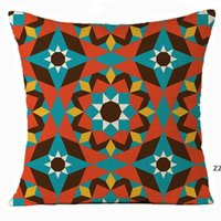 Home Textiles Moroccan pillow case mosaic Arab cushion cover single-sided linen four seasons universal Bedding Supplies HWD10375