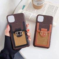 L дизайн писем цветок телефона чехлы для iPhone 12 MINI 12PRO 11 11PRO X XS MAX XR 8 7 8PLUS 7PLUS кожаный чехол кожи с карманным карманом A01