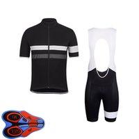 Erkek Rapha Takımı Bisiklet Jersey Önlüğü Şort Set Yarış Bisiklet Giyim Maillot Ciclismo Yaz Hızlı Kuru MTB Bisiklet Giysileri Spor Y21041042