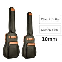 40   46 Inch Electric Guitar Bag Waterproof Electric Bass Bag 10mm Thicken Padded Gig Bag Case C0407
