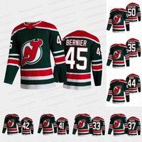 New Jersey Devils 2021 Reverse Retro Jersey Ryan Graves Cory Schneider Robbie Russo Scott Wedgewood A.j. Грир Майлз Д. Джонатан Бернье Кори Кроуфорд Никита Гусев