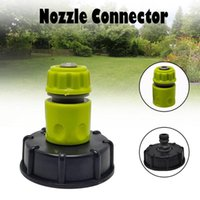 Tank Tap Adapter Garden Hose Connector Plastic Water Pipe Replacement Valve Fitting Parts Watering Equipments