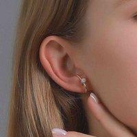clip new Minority 2020 personality Fashion Earbone no ear hole earclip female pearl French Earrings