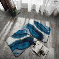 Carpets Geometric Textured Doormat Entrance Welcome Mats Hallway Doorway Area Rug Kitchen Bathroom Non Slip Water Absorption Mat Carpet