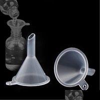 기타 도구 주방, 홈 정원 드롭 배달 2021 액체 에센셜 오일 충전 깔때기 주방 당 투명한 미니 플라스틱 작은 깔때기