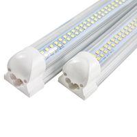 LED 튜브 T8 통합 라이트 2 피트 20W 60cm - 샤프 밀키 커버 / 투명 벽 램프 화이트 AC 90-265V