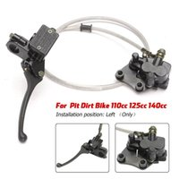 Motorcycle Brakes Moto Front Hydraulic Brake Master Cylinder For Pit Dirt Bike Dirtbike 110cc 125cc 140cc CRF70 Caliper Upper And Lower Pump