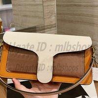 Mode hög kvalitet c kvinnor luxurys designer handväskor axelväskor dam totes koppling tabby dubbel lager väska crossbody midja väskor handväska 2021 mest populära