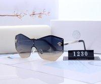 Tasarımcı Orijinal Marka F Büyük Çerçeve Degrade Polarize Güneş Gözlüğü Erkekler Sürüş Kare Güneş Gözlükleri Açık Kişiselleştirilmiş Gözlük UV