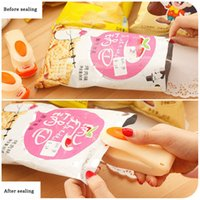Portable Mini Heat Sealing Machine Food Clip Household Impulse Snack Bag Sealer Seal Kitchen Utensils Gadget Tools