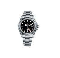탑 럭셔리 남자 시계 exp air king series 116900 및 216570 블랙 40mm 다이얼 자동 기계 운동 316 스틸 브랜 디자이너 시계