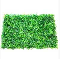 Commercio all'ingrosso 60pcs erba artificiale decorazioni da giardino in plastica BOODWOD TOT Topiary Tree Milano per giardino, casa, negozio, piante di decorazione di nozze