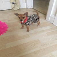 Dog Apparel Winter Clothes Cute Pet Dogs Leopard Costume Tops Puppy Cotton Hoodie Warm Coats & Jackets Chihuahua Clothing