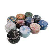 Tea Pot Caja de lata Home Jardín Personalidad Caja de dulces Candy Candy Caja de galletas Hecho A Mano Hecho A Mano Vela Tarrar Embalaje Funda GWF6174
