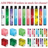 Authentic AIVONO AIM Pro Dispositivo de cigarrillo vape de vape e Auténtico con 1000mAh batería 6.5ml POD 1500 Puffs Kit de vaporizador VS FLOT