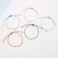 Fashion Woven Adjustable Bracelet with Card Infinity Love Star Hologram Bracelets for Girls Jewelry