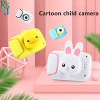 ANTI-Fall Mini Kids Digital Camera HD 1080P Caméras Vidéo Jouet Dessin animé Jolie Pographie pour enfants cadeaux